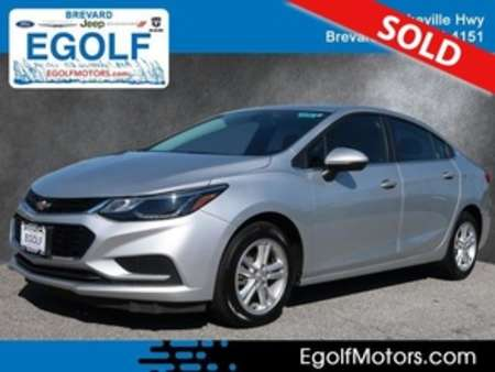 2017 Chevrolet Cruze LT Auto for Sale  - 10780  - Egolf Motors