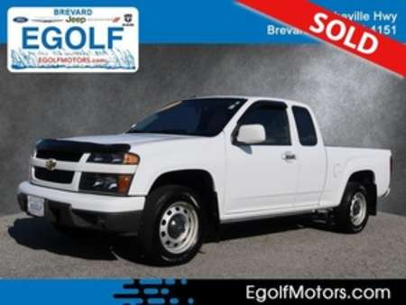 2012 Chevrolet Colorado Work Truck 2WD Extended Cab for Sale  - 21684B  - Egolf Motors