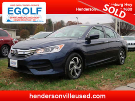 2017 Honda Accord LX for Sale  - 7604  - Egolf Motors