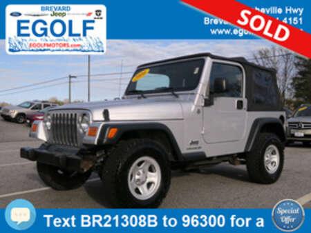 2006 Jeep Wrangler SE for Sale  - 21308B  - Egolf Motors