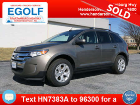 2013 Ford Edge SEL One Owner! for Sale  - 7383A  - Egolf Motors