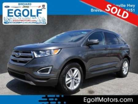 2017 Ford Edge SEL AWD for Sale  - 10619  - Egolf Motors