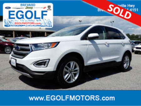 2016 Ford Edge SEL for Sale  - 10543  - Egolf Motors