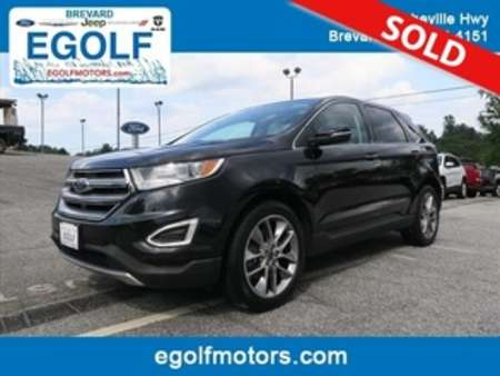 2015 Ford Edge Titanium AWD for Sale  - 10673  - Egolf Motors