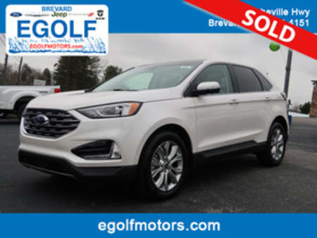 2019 Ford Edge Titanium AWD for Sale  - 5058  - Egolf Motors
