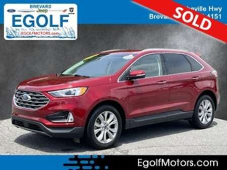 2019 Ford Edge Titanium AWD for Sale  - 5100  - Egolf Motors