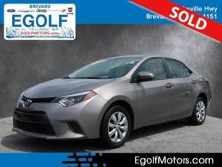 2015 Toyota Corolla LE for Sale  - 21650A  - Egolf Motors