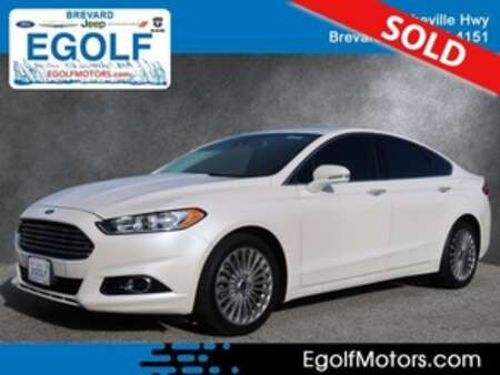 2016 Ford Fusion Titanium AWD for Sale  - 10720  - Egolf Motors