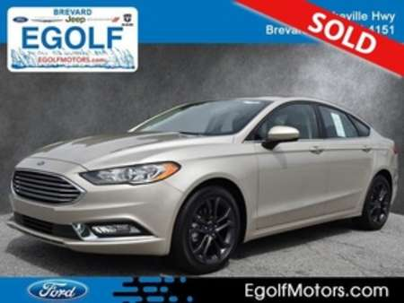 2018 Ford Fusion SE for Sale  - 4979  - Egolf Motors