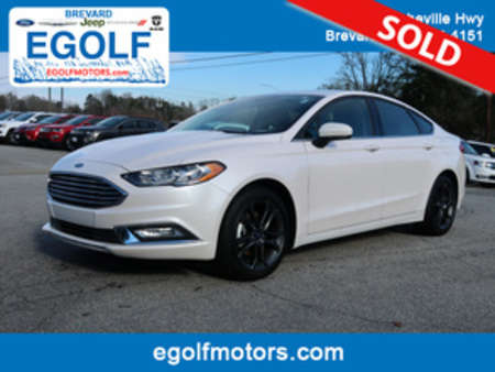 2018 Ford Fusion SE for Sale  - 4919A  - Egolf Motors