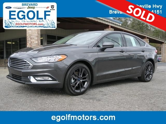 2018 ford fusion se stock 4941 brevard nc for Egolf motors used cars