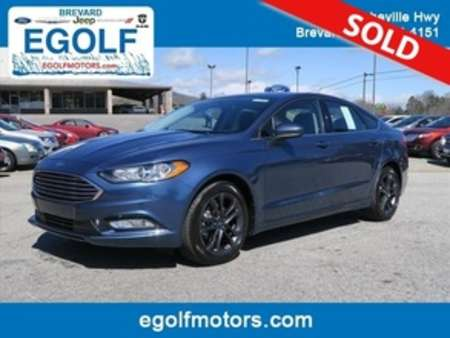 2018 Ford Fusion SE for Sale  - 4944  - Egolf Motors