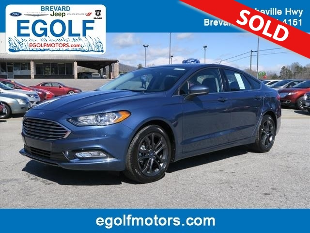 2018 ford fusion se stock 4944 brevard nc for Egolf motors used cars