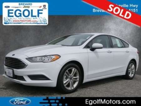 2018 Ford Fusion SE for Sale  - 4951  - Egolf Motors