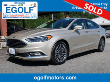 2017 Ford Fusion Titanium for Sale  - 10683  - Egolf Motors