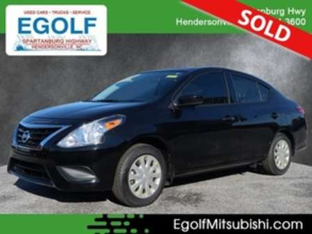 2018 Nissan Versa S Plus for Sale  - 7622  - Egolf Motors