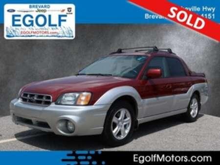 2003 Subaru Baja Base for Sale  - 10742A  - Egolf Motors