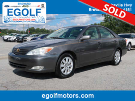 2003 Toyota Camry XLE for Sale  - 10652A  - Egolf Motors