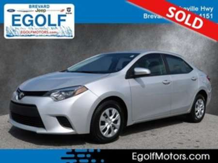 2016 Toyota Corolla L for Sale  - 10690B  - Egolf Motors