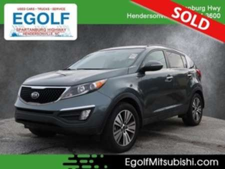 2014 Kia Sportage EX AWD for Sale  - 7648  - Egolf Motors