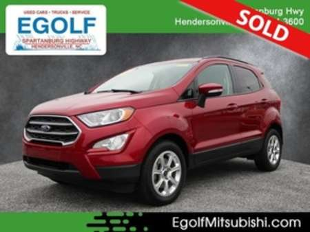 2018 Ford EcoSport SE for Sale  - 7680  - Egolf Motors