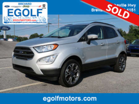 2018 Ford EcoSport SE 4WD for Sale  - 5010  - Egolf Motors
