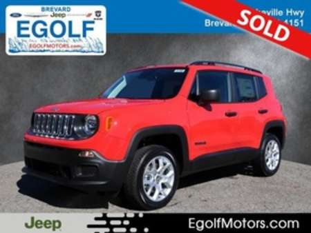2018 Jeep Renegade Sport for Sale  - 21705  - Egolf Motors