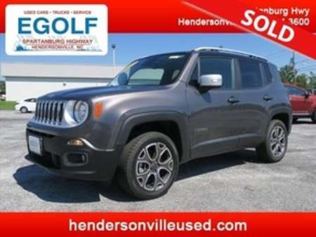 2017 Jeep Renegade Limited for Sale  - 7514  - Egolf Motors