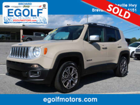 2016 Jeep Renegade Limited 4WD for Sale  - 5034A  - Egolf Motors
