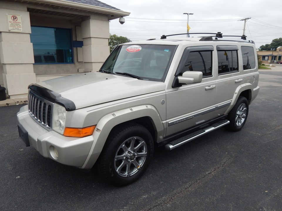 2007 Jeep Commander Over