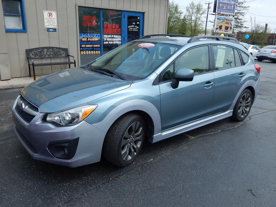 2012 Subaru Impreza Wagon  - Premier Auto Group