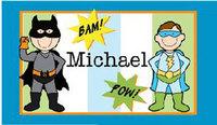 Superhero Placemats