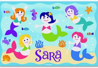 Mermaid & Sea Creature Placemats