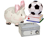 Children's Banks & Cash Boxes
