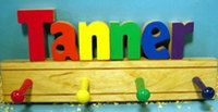 Name Puzzle Coat Racks