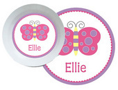 Butterfly & Flower  Dish Sets