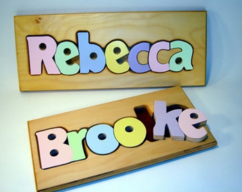 Name Puzzle Boards