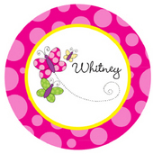 Butterfly & Flower Plates