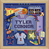 Boys Personalized Wall Art
