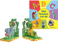 Kids Personalized Books & Kids Bookends
