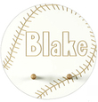 Baseball Personalized Coat Rack