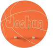 Basketball Personalized Coat Rack