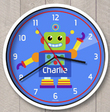 Rocking Robot Personalized Clock