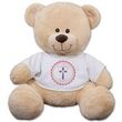 God Bless Personalized Teddy  Bear for Girls (3 sizes available)