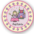 Princess Personalized Melamine Plate