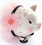 Ballerina Piggy Bank by Mud Pie™