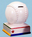 Baseball Bank (Personalization available)