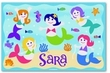Mermaid Personalized Placemat