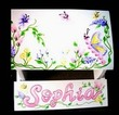 Spring Garden Personalized Flip Step-Stool