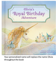 My Royal Birthday Adventure Personalized Book for Girls